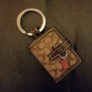 Coach keychain